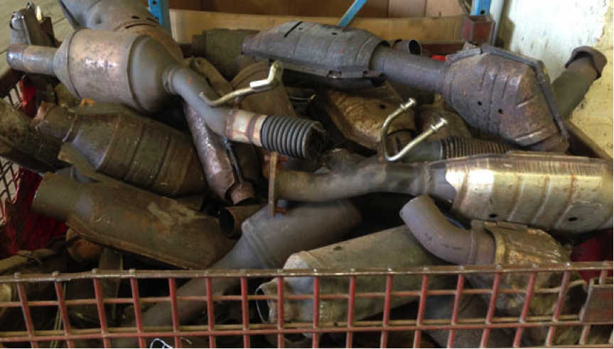 Why not try us with your scrap catalytic convertors X